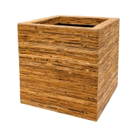 Кашпо rattanplanter kubis natural l56 w56 h56 см
