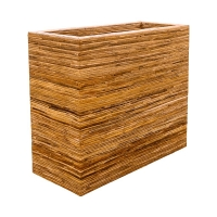 Кашпо rattanplanter divider natural l90 w40 h77 см