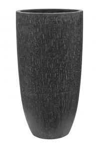 Кашпо raindrop partner anthracite d32 h62 см