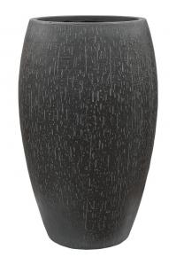 Кашпо raindrop emperor anthracite d37 h60 см