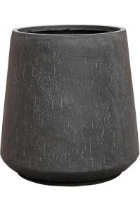 Кашпо raindrop darcy anthracite d55 h55 см