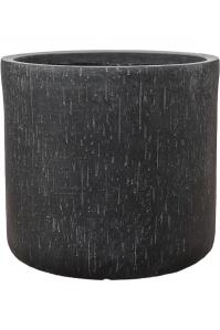 Кашпо raindrop pot round anthracite d34 h32 см