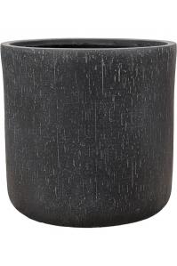 Кашпо raindrop pot round anthracite d42 h41 см