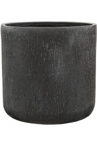 Кашпо raindrop pot round anthracite d51 h49 см