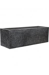 Кашпо raindrop rectangle anthracite l70 w23 h23 см