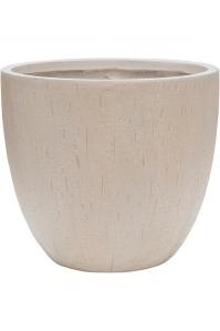 Кашпо raindrop couple pot beige d37 h33 см