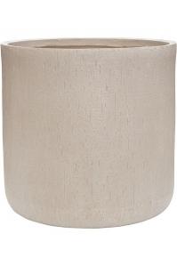 Кашпо raindrop cylinder beige d51 h49 см