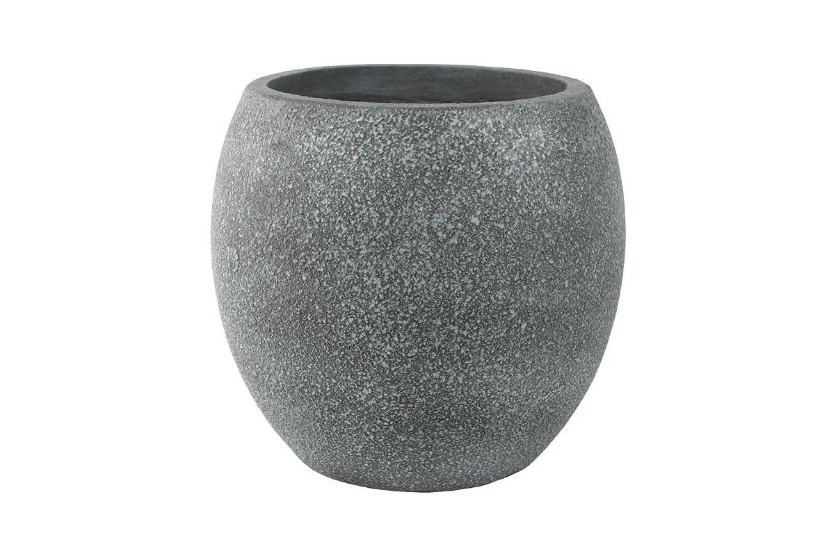 Кашпо sebas (concrete) couple grey d44 h41 см