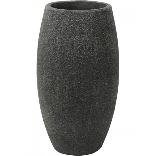 Кашпо sebas (concrete) duo anthracite d36 h65 см