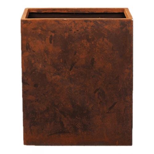 Кашпо static (grc) rectangle divider rusty l76 w34 h96 см