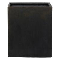 Кашпо static (grc) cube divider black l76 w34 h96 см