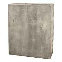 Кашпо static (grc) rectangle divider grey d56 l27 h68 см