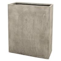 Кашпо static (grc) rectangle divider grey l76 w34 h96 см