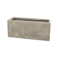 Кашпо static (grc) rectangle grey l75 w32 h32 см