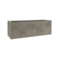 Кашпо static (grc) rectangle grey l95 w32 h32 см