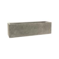 Кашпо static (grc) rectangle grey l80 w22 h22 см