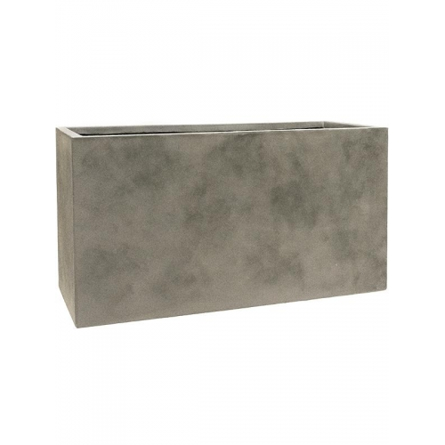 Кашпо static (grc) rectangle grey l90 w37 h48 см