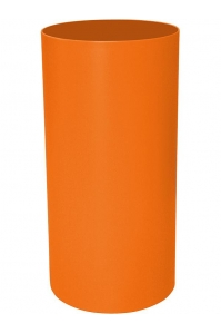 Кашпо stiel standard on ring colour ral 2003 matt (waterproof) d40 h100 см