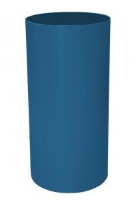 Кашпо stiel standard on ring colour ral 5019 matt (waterproof) d40 h100 см