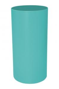 Кашпо stiel standard on ring colour ral 6027 matt (waterproof) d40 h100 см