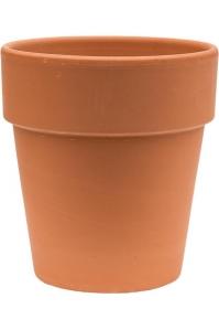 Кашпо terra cotta flowerpot d21 h23 см