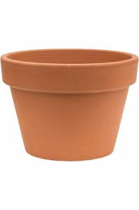 Кашпо terra cotta flowerpot d25 h17 см