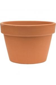 Кашпо terra cotta flowerpot d27 h20 см