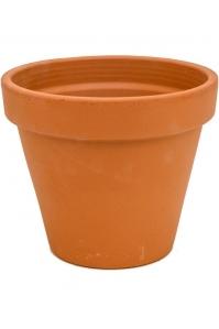 Кашпо terra cotta flowerpot d25 h21 см
