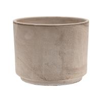 Кашпо terra cotta flowerpot grey d25 h21 см