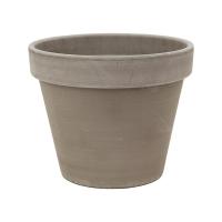 Кашпо terra cotta flowerpot grey d29 h23 см