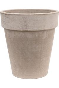 Кашпо terra cotta flowerpot grey d31 h35 см