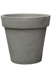 Кашпо terra cotta flowerpot grey d49 h41 см