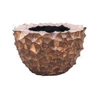Кашпо tunda couple coconut shell brown d56 h35 см