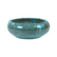 Кашпо turquoise bowl (moda) d55 h22 см