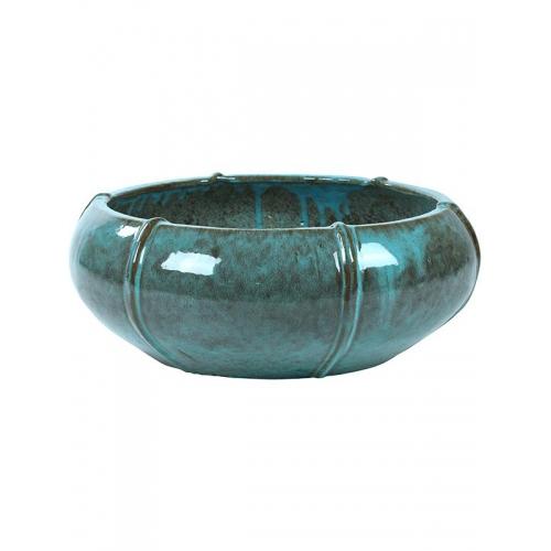 Кашпо turquoise bowl (moda) d76 h29 см