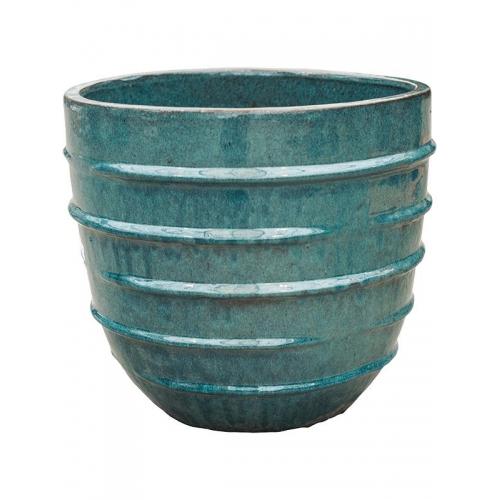 Кашпо turquoise couple (beauty) d44 h40 см