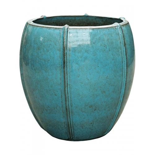 Кашпо turquoise emperor (moda) d43 h43 см