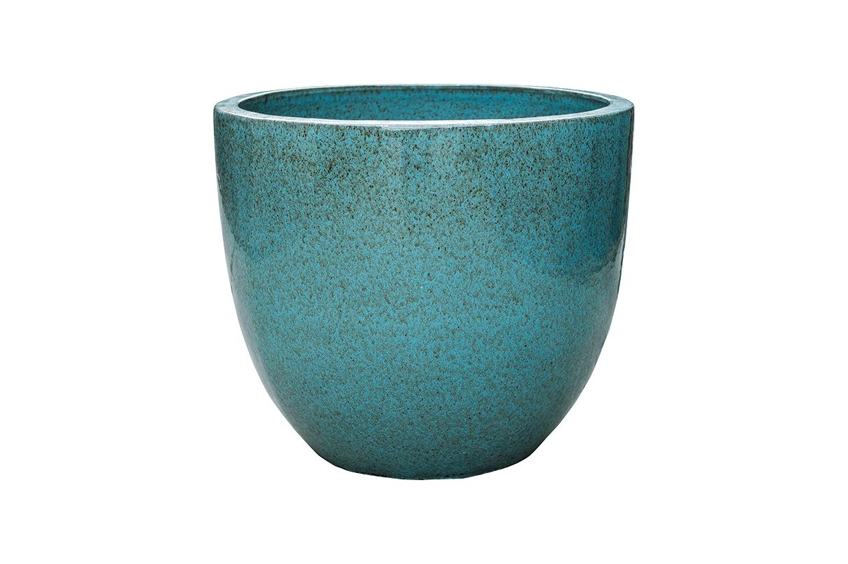 Кашпо turquoise couple (pure) d59 h51 см