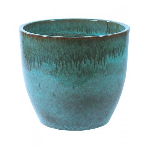 Кашпо turquoise couple (pure) d70 h60 см