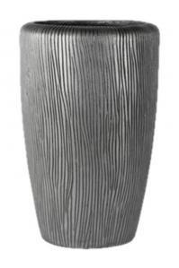 Кашпо twist partner silver d32 h52 см