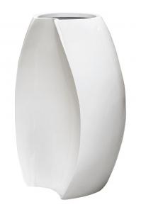 Кашпо unica jigsaw glossy white l46 w38 h68 см