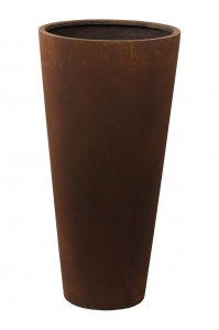 Кашпо unique (grc) partner rusty d36 h70 см