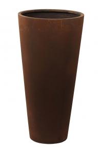 Кашпо unique (grc) partner rusty d45 h90 см