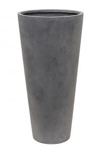 Кашпо unique (grc) partner grey d45 h90 см