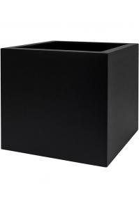Кашпо up2u square matt black l42 w42 h40 см