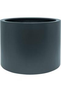 Кашпо up2u round matt anthracite (ral 7016) d53 h40 см