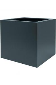 Кашпо up2u square matt anthracite (ral 7016) l42 w42 h40 см