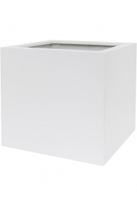 Кашпо up2u square matt white l42 w42 h40 см