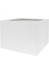 Кашпо up2u square matt white l53 w53 h40 см