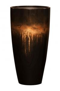 Кашпо vogue sensation partner orange brown d40 h75 см